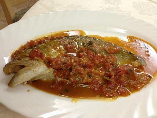 Ristorante Sirena di Sansica : le poisson