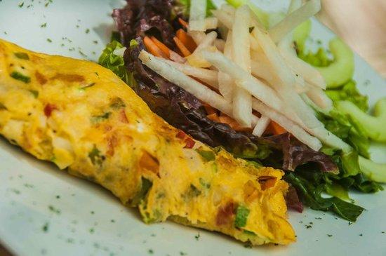 Chabauddin-Tea House: omelette veggi
