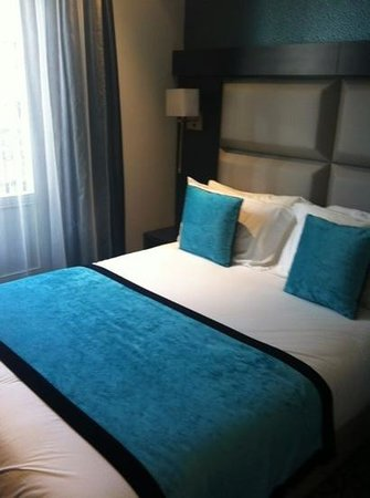 Hotel Prince Albert Montmartre: camera matrimoniale standard