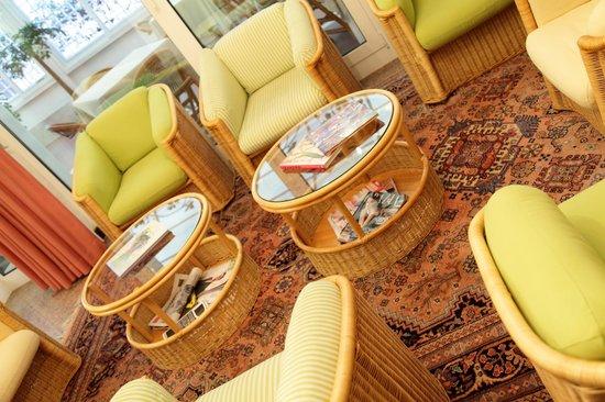 Hotel Abbazia: salotto