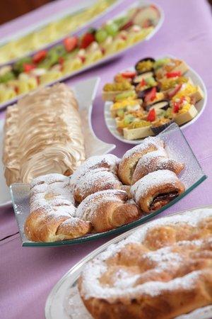 Hotel Abbazia: colazione a buffet