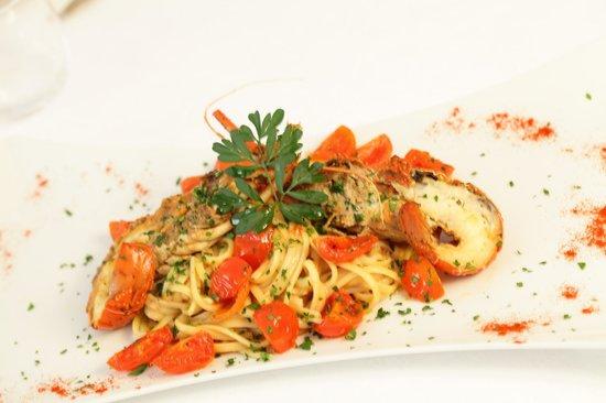 Hotel Abbazia: ristorante di pesce