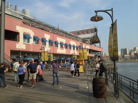south street seaport, brooklyn...