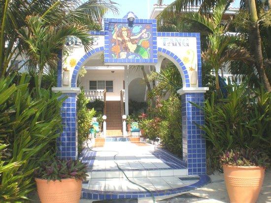 Blue Tang Inn: view from ocean