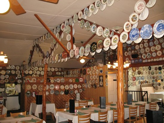 Popo: Some of the 2300+ Plates at the Po Po Restaurant