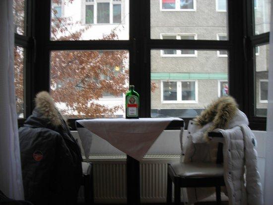 Hotel Mitte Berlin: Veranda