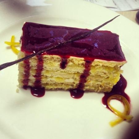 Puri: апельсиновый торт
