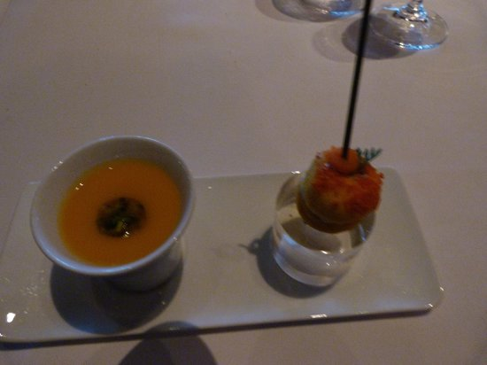 Canlis Restaurant: a sampling of our food