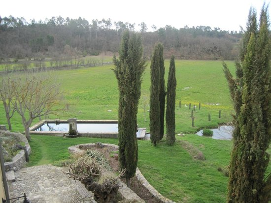 Une Campagne en Provence : This was the lovely view from our apartment bedroom