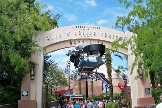 Disney's Hollywood Studios: montana rusa aerosmith