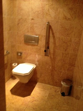 Arion, a Luxury Collection Resort & Spa: Toilet area in huge bathroom