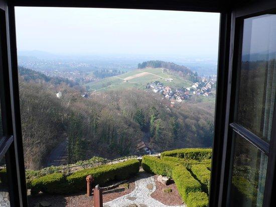 Burg Windeck Hotel und Restaurant: Blick aus dem Zimmer