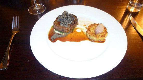 Tiffanys Restaurant : Piatto principale