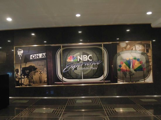 The Tour at NBC Studios: Estudios NBC