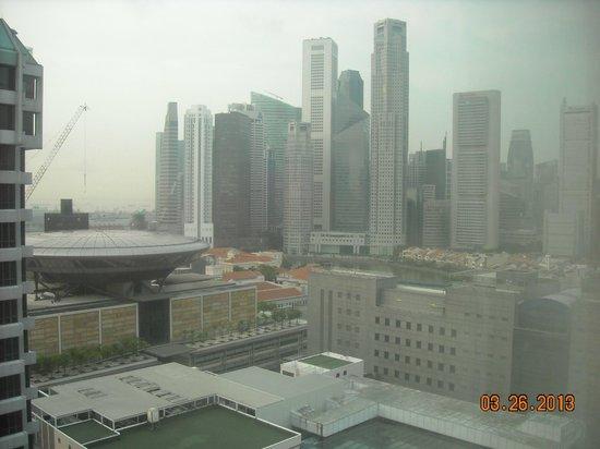 โรงแรมเพนนินซูล่า เอ็กเซลซิเออร์: вид с 16 этажа