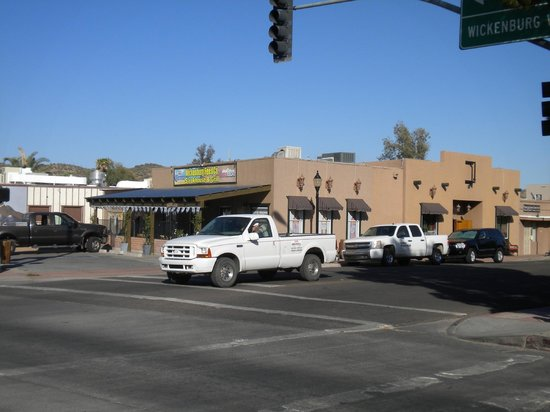Wickenburg Feed Company: prime downtown location right at the intersection