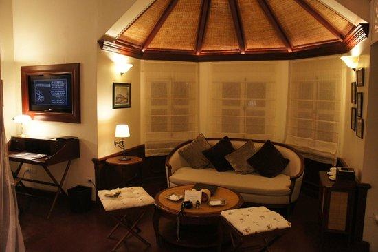 The Luang Say Residence: Salon dans la chambre