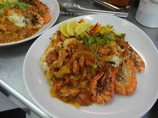Enjoy Diner Soustons Beach: le jambalaya