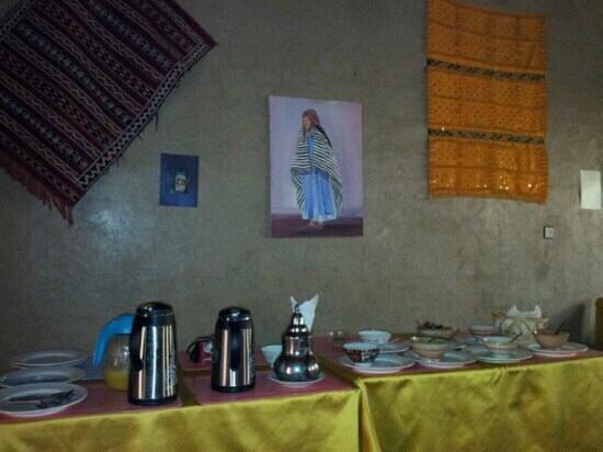L'Auberge Oasis: breakfast