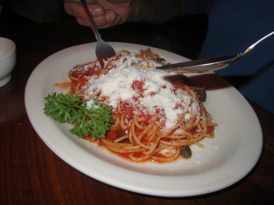 Cocolores: Spaghetti arrabiata