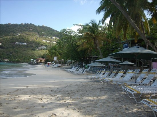 Rhymers Beach Hotel: Cane Garden Bay Beach