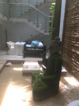 Hotel Aguamarina: lobby