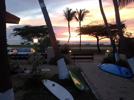 Sunset Beach Studios: Increibles atardeceres!