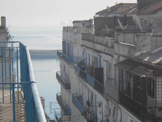 Grand Hotel Regina: sea view from room