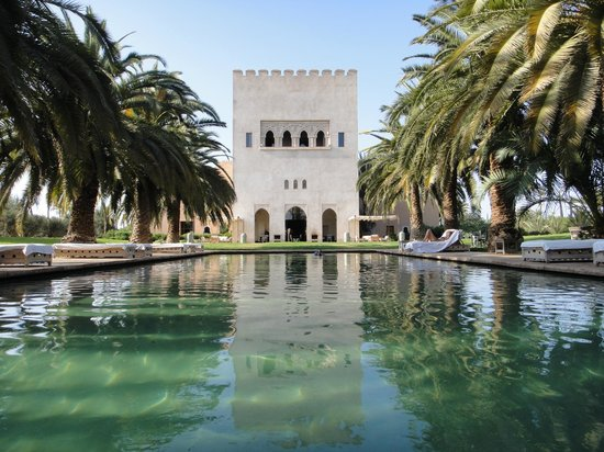 Ksar Char-Bagh: Heated pool