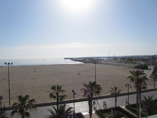 El Coso Hotel : the seaside seen from  the breakfast room