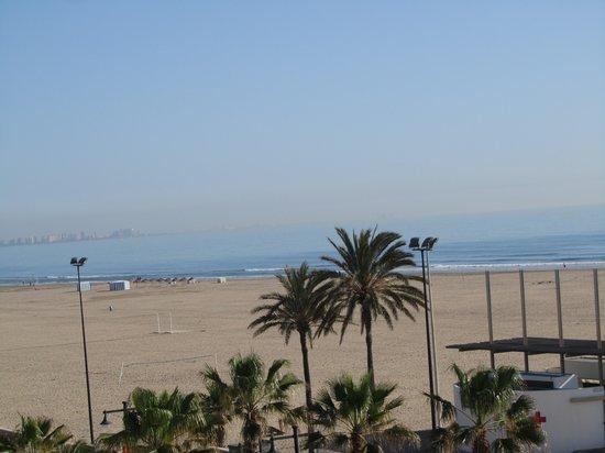 El Coso Hotel : the seaside seen from the breakfast area