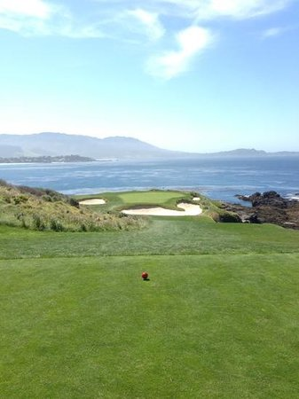 The Lodge at Pebble Beach: number 7 at pebble