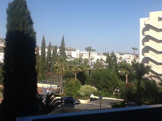 Elias Beach Hotel: View from balcony - inland view