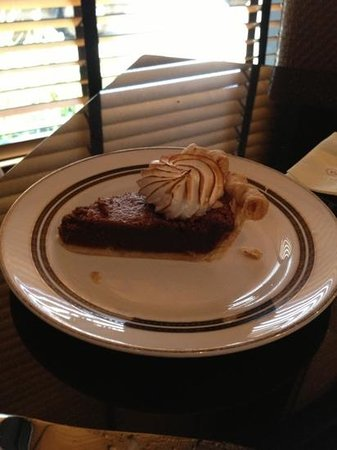 The Capital Hotel : Chocolate Crest Pie
