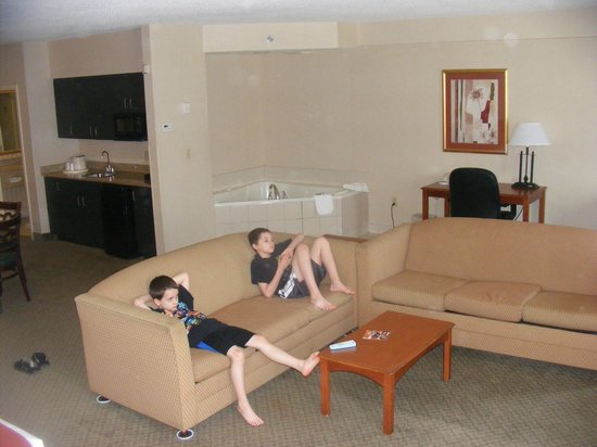 Holiday Inn Express Hotel & Suites Erie (Summit Township) : studio suite