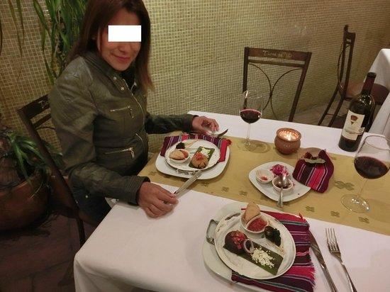 Docecuartos Hotel: Cena Degustación