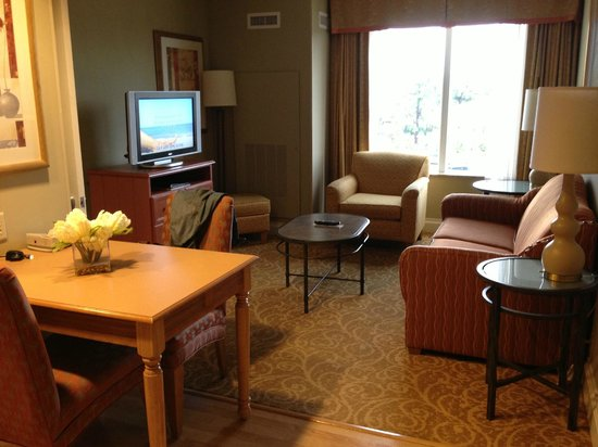 Homewood Suites West Palm Beach: Seating area