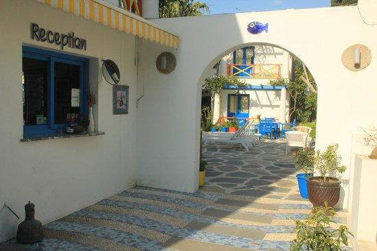 Su Hotel: entrance and reception