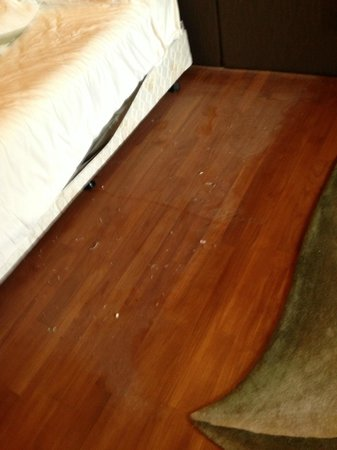 Hotel Fort Canning: huge amounts of dust under the bed