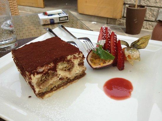 Restaurant Pizzeria & Steakhouse Anny: Tiramisù