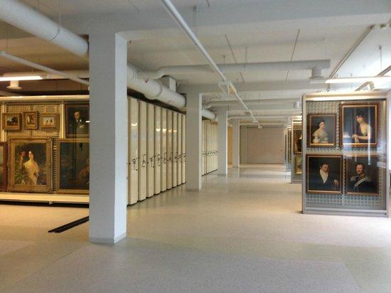 Hermitage Storage Facility: Paintings
