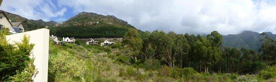 Silvermist Mountain Lodge Estate : View from Cedar Lodge, Silvermist