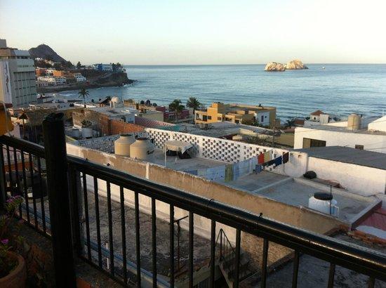 Old Mazatlan Inn: View from the Terrace