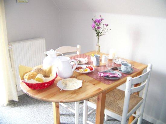 Private Vaerelser v/Vagn og Alice Sangill: morgenmad