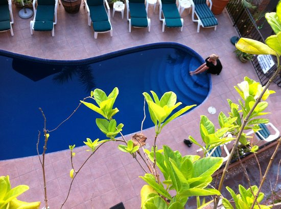 Old Mazatlan Inn: Pool Area - View from our Room