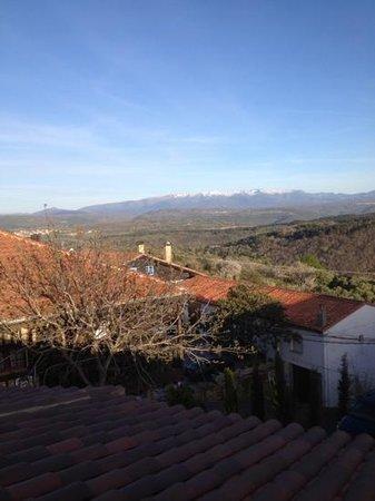 Hotel Spa Villa de Mogarraz: vista desde la terraza
