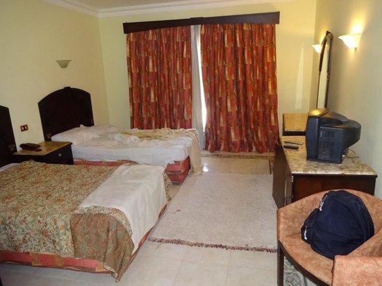 Viva Sharm Hotel: Zimmer recht geräumig