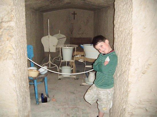 Bunkeranlage Mellieħa: my son loved it