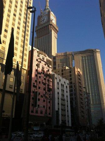 Hotel Al Shohada: Abraj Al-Bait