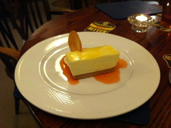 The Pheasant Inn: April 2013: delicious cheese cake